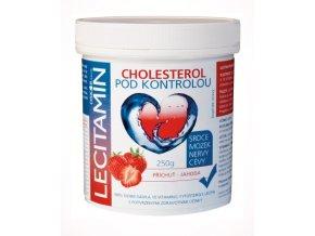 Lecitamin lecitino-proteinový nápoj jahoda 250 g