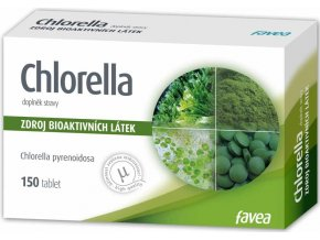 Favea Chlorella 150 tbl.