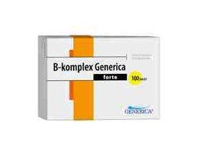 Generica B-komplex forte 100 tbl.