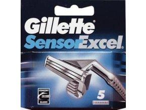 Gillette Náhradní hlavice Gilltette Sensor Excel 5 ks