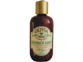 Vivaco Olivia Regenerační šampon s olivovým olejem 250 ml