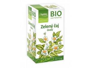Apotheke Bio Zelený čaj 20x1,5g