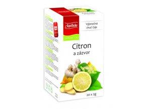 Apotheke Citron a zázvor 20x2g