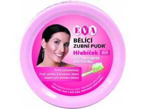 EVA Cosmetics Bělící zubní pudr (hřebíček) 3v1 30 g