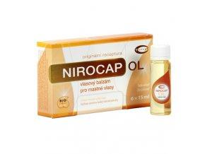 Topvet Nirocap OL vlasový balzám pro mastné vlasy 6x15 ml