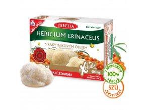 Terezia Company Hericium erinaceus se 100% rakytníkovým olejem 60 kapslí