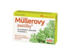 Dr. Muller Müllerovy pastilky s islandským lišejníkem 24ks