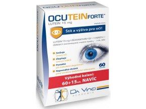 Simply You Ocutein Forte Lutein 15 mg 60 tob. + 15 tob. ZDARMA