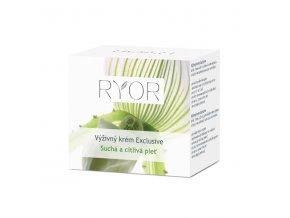 Ryor Výživný krém Exclusive pro suchou a citlivou pleť 50 ml
