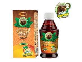 Topvet Šípkový dětský sirup s fruktozou 300 g
