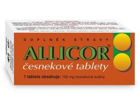Naturvita Allicor česnekové tablety 60 tbl.