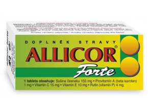 Naturvita Allicor Forte 60 tbl.
