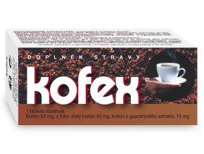 Naturvita Kofex přírodní kofein + guarana 80 tbl.