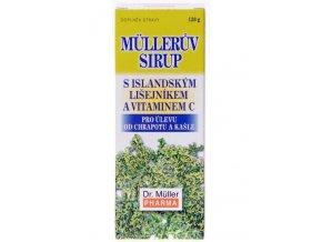 Dr. Muller Müllerův sirup s islandským lišejníkem a vitamínem C 130g