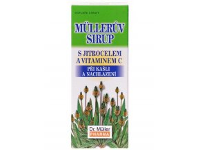 Dr. Muller Müllerův sirup s jitrocelem a vitaminem C 130g