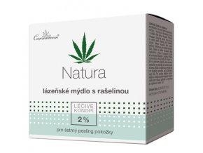 Cannaderm Lázeňské mýdlo s rašelinou Natura 80 g