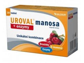Valosun Uroval manosa + enzymy 30 tbl.