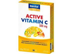 Revital Active vitamin C 500mg 30 kapslí