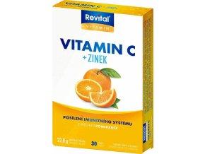 Revital Vitamín C + Zinek 30 tbl.
