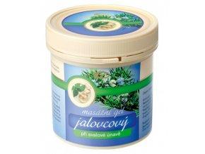 Topvet Jalovcový masážní gel při svalové únavě 500 ml