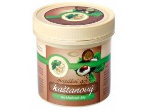 Topvet Kaštanový masážní gel na křečové žíly 500 ml