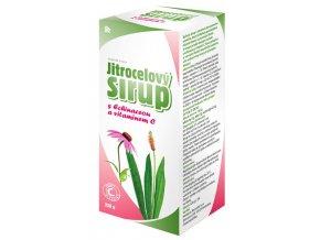 HBF Jitrocelový sirup s echinaceou a vitamínem C 320 g