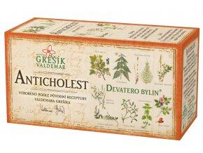 Grešík Anticholest čaj n.s. 20x1.5g Devatero bylin