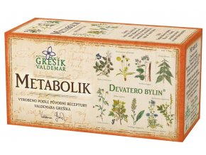 Grešík Metabolik čaj n.s. 20x1.5g Devatero bylin
