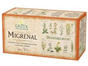 Grešík Migrenal čaj n.s. 20x1.5g Devatero bylin