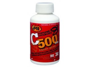 JML Vitamin C-500 mg 60 tbl. + 5 tbl. ZDARMA