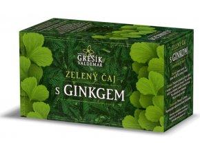 Grešík Zelený čaj s ginkgo n.s. 20 x 1,5 g