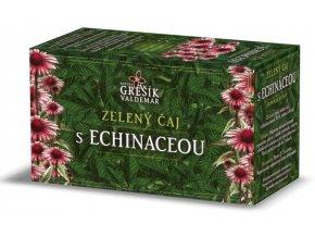 Grešík Zelený čaj s echinaceou n.s. 20 x 1,5 g
