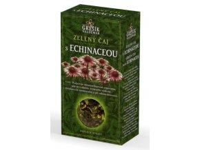 Grešík Zelený čaj s echinaceou sypaný 70 g