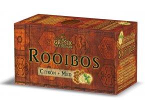 Grešík Rooibos Citrón + Med n.s. 20 x 1,5 g