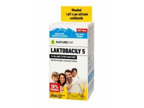 """Swiss Laktobacily """"5"""" 60 kapslí"""