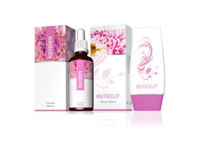 Energy Korolen 30 ml + Ruticelit krém 50 ml