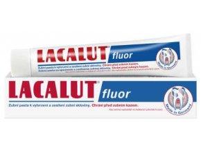 Lacalut Fluor - zubní pasta proti zubnímu kazu 75 ml