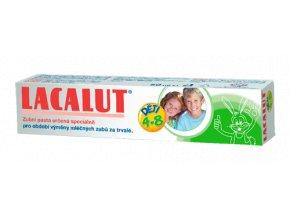 Lacalut dětská zubní pasta pro děti od 4 do 8 let 50 ml