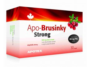 Apotex APO-Brusinky Strong 500mg 30 kapslí