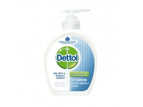 Dettol antibakteriální tekuté mýdlo Sensitive 250 ml