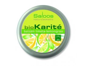 Saloos Bio Karité balzám - Limeta-lemongrass