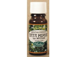 Saloos Máta peprná (typ Mitcham) - esenciální olej 5ml