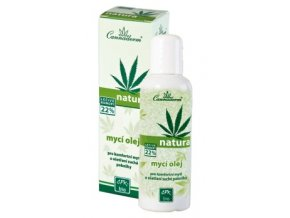 CANNADERM Bio Mycí olej Natura 100 ml
