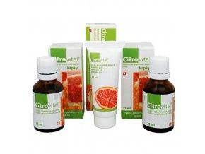 Herb Pharma Citrovital 2+1 ZDARMA (2x kapky + dentální gel ZDARMA)