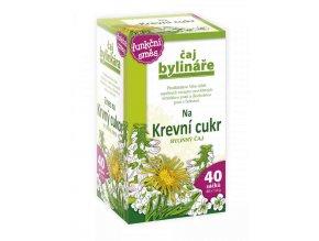 Čaj Bylináře Na krevní cukr bylinný čaj 40 x 1.6 g