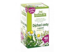 Čaj Bylináře Dýchací cesty a pocení bylinný čaj 40 x 1.6 g