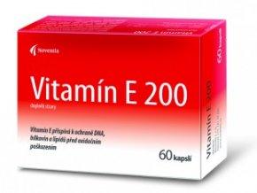 Noventis Vitamín E 200mg 60 kapslí