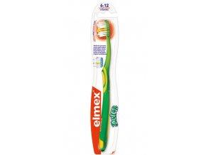 Elmex Zubní kartáček Junior pro děti od 6-12 let