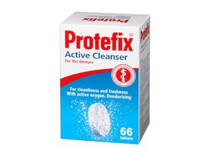Protefix Aktivní čistící tablety na zubní protézu 66 tbl.