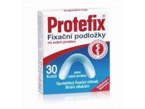 Protefix Fixační podložka na zubní protézu - dolní zubní protéza 30ks